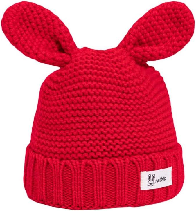 TwoCC-Sombrero de punto, orejas de conejo Sombrero infantil ...