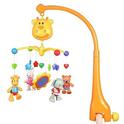 Hugine multiFuncional cuna musical juguetes bebé niños cuna ...