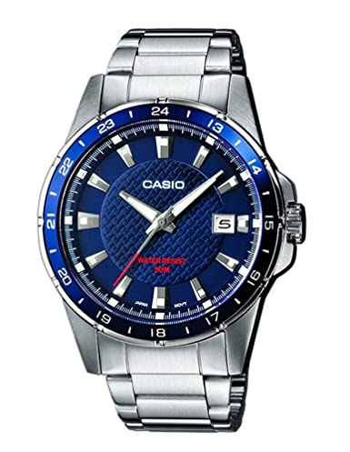 dc460b4793e6 Casio Reloj de Pulsera MTP-1290D-2AVEF  Amazon.es  Relojes