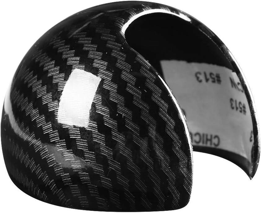 KSTE Carbon-Faser-Art-Auto Schaltknauf Head Cover-Kappen-Aufkleber Trim for Audi A3 8V S3 14-18