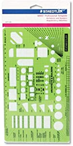 Staedtler Template Architects and Builders (977 125 02)