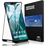 TopACE Bye-Bye-Bubble Premium Quality Tempered Glass 0.3mm Full Cover Screen Protector for Google Pixel 3 XL (Black)