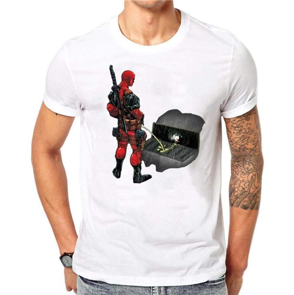 Kawaii Deadpool 10 S T Shirt Printing Short Sleeve Tee