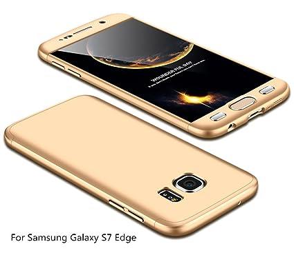 JINCHANGWU Funda para Samsung Galaxy S7 Edge Rigida 360 ...