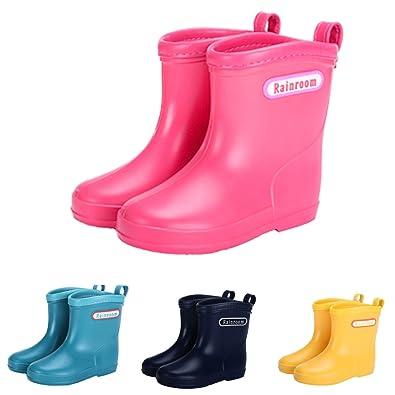 cd515f0e252ee レインブーツ キッズ 長靴 子供 レインシューズ 雨靴 男の子 女の子 防水 軽量 レインブーツ 可愛い ジュニア