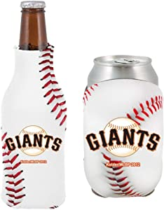 MLB Baseball Team Logo Bottle & Can Coolie Set 12oz Beverage Drink Holder Sleeve Cooler