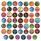 quick cafe travel coffee maker - Keurig K Cups coffee pods variety pack, Single serve, Premium sampler, (48 Count)