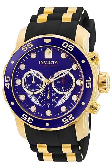 muy bonito 76237 66a78 Invicta 6983 Pro Diver - Scuba Reloj para Hombre acero inoxidable Cuarzo  Esfera azul