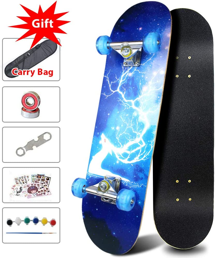 Sangde Easy Way Canadian Maple Cruiser Complete Skateboard