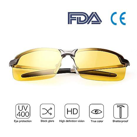Gafas Nocturna | Gafas de sol - Para la pesca/Conducción nocturna/Reducción de