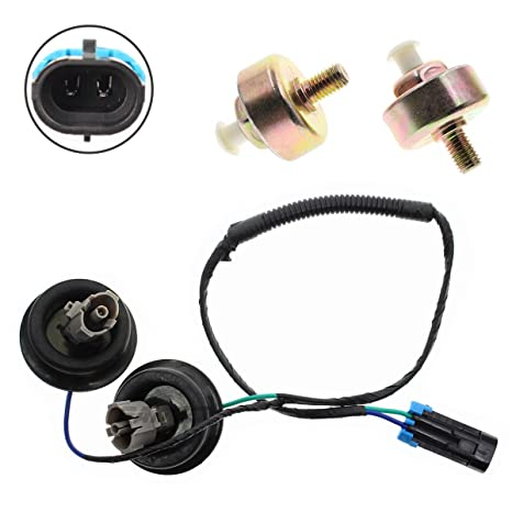 Amazon.com: Knock Sensors with Harness Connectors for Cadillac Chevy