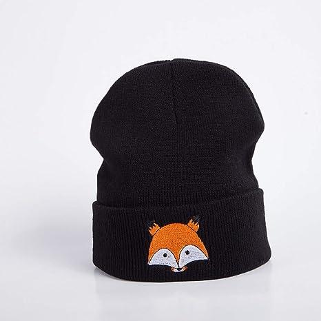 XJDMG Sombrero de Punto Wool Hat Gorra Nuevos Gorros De Invierno ...