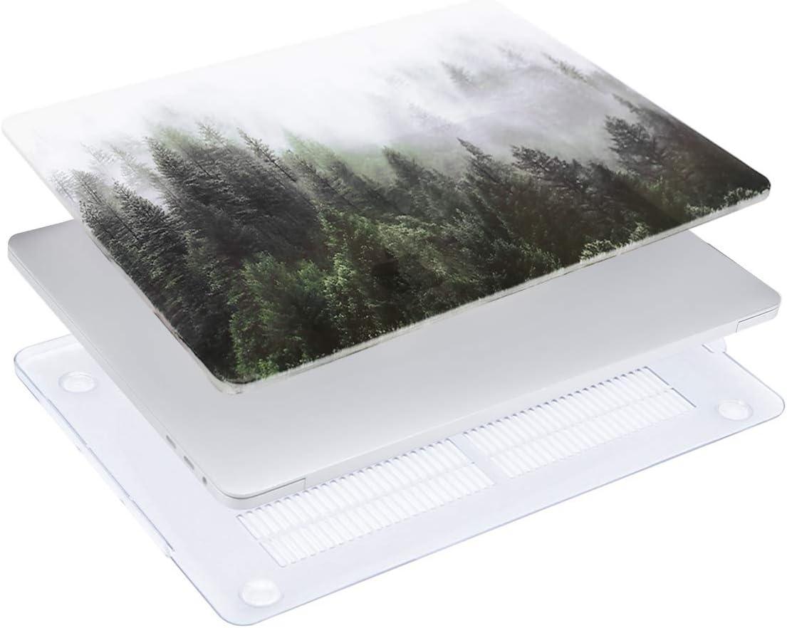 Ultra Slim Coque Rigide Compatible avec Macbook Pro 15 Pouces Touch Bar et Touch ID MOSISO Coque Compatible avec MacBook Pro 15 Pouces A1990 A1707 2019//2018//2017//2016 Menthe Verte