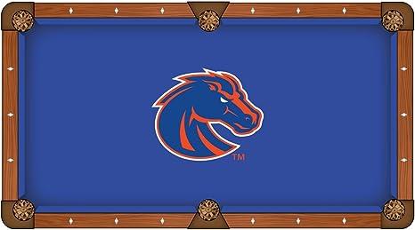 Boise State Broncos HBS azul con naranja Logo billar mesa de billar paño, Azul: Amazon.es: Deportes y aire libre