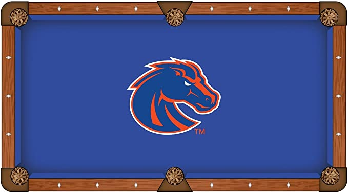 Boise State Broncos HBS azul con naranja Logo billar mesa de ...