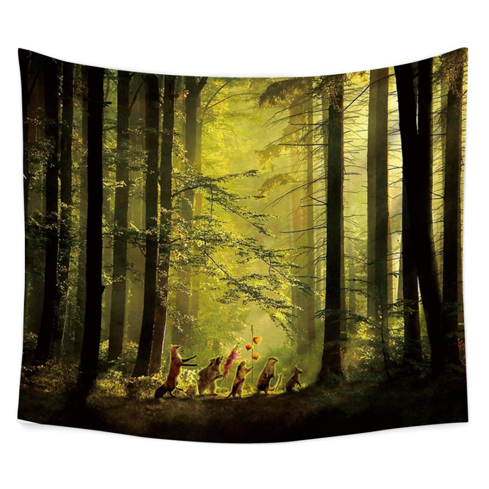 79 x 59inches Smartcoco Black Hole First Photo Tapestry Wall Hanging Tablecloth Beach Towel Blanket Picnic Yoga Mat for Home Dorm Decor Gobelin Wall Art