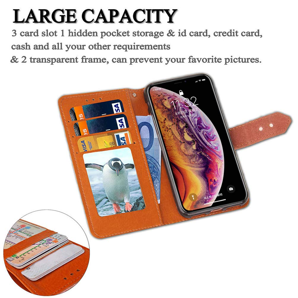 Mlorras iPhone XS Max H/ülle Gepr/ägtes europ/äisches PU Leder Flip Wallet Case Cover Klappbares Handyh/ülle Brieftasche Schutzh/ülle mit Integrierten Kartensteckpl/ätzen Wandgem/älde lila