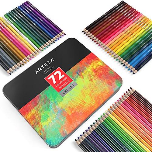 Arteza Professional Colored Pencils (Set of 72) Photo #7