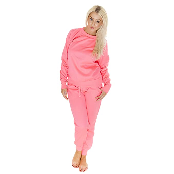 Love My Fashions® para Mujer Plain & Diamante Chándal Jogging ...