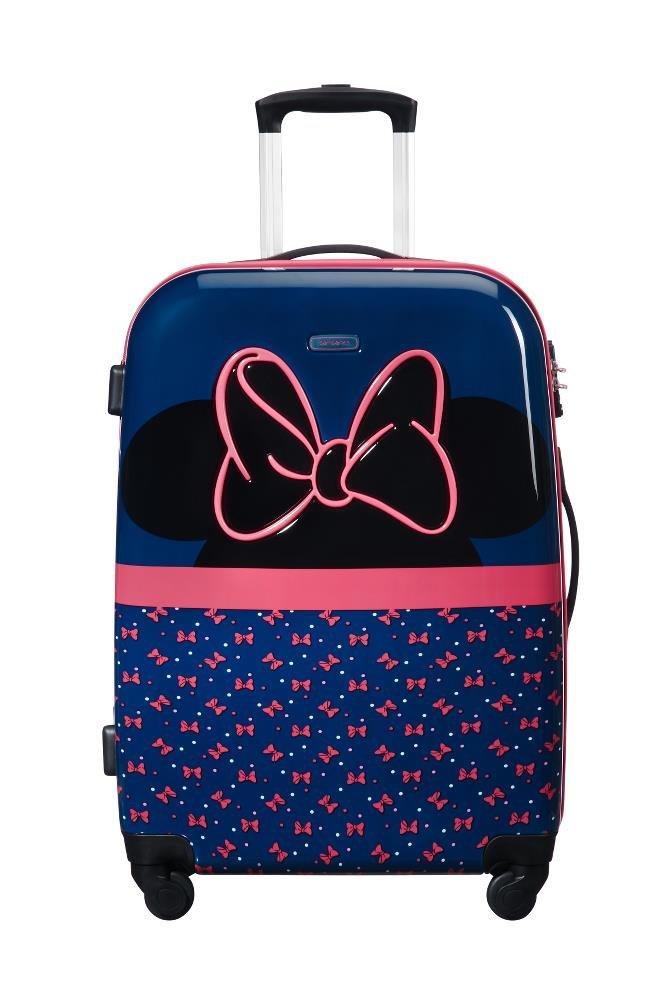 Spinner 65//24 3.3 KG Bagage Enfant SAMSONITE Disney Ultimate 2.0 Multicolore 55.5 liters 65 cm Minnie Neon