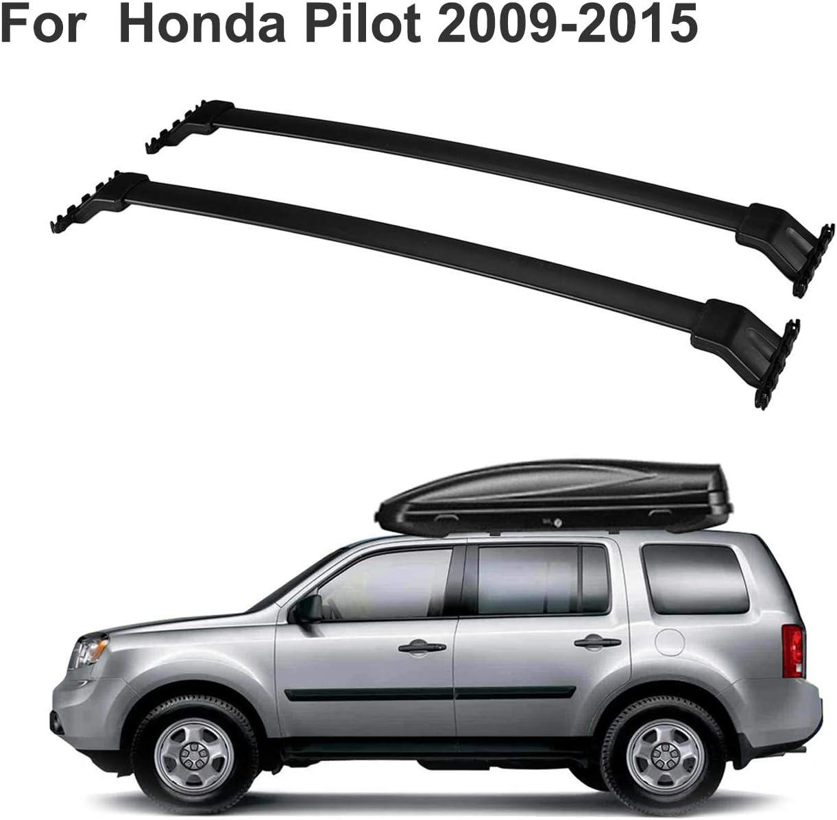 Fit For 2009 2015 Honda Pilot Roof Rack Side Rails Set Luggage Carrier Bar Us