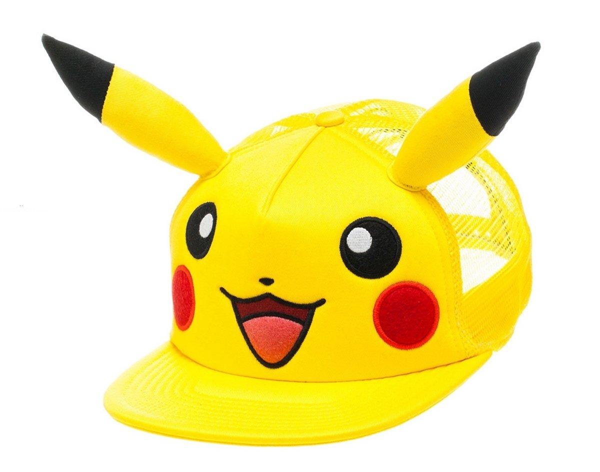 Casquette 'Pokémon' : Pikachu avec Oreilles Bioworld BA1B24POK