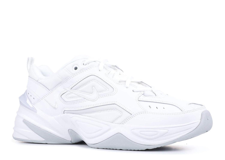 Blanc, blanc-pure Platinum Nike W M2k Tekno, Chaussures de Running Compétition Femme 44.5 EU