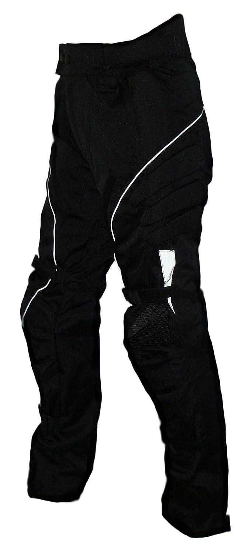 Protectwear Pantal/ón de moto XS Pantal/ón textil WCT-703 negro Talla 46
