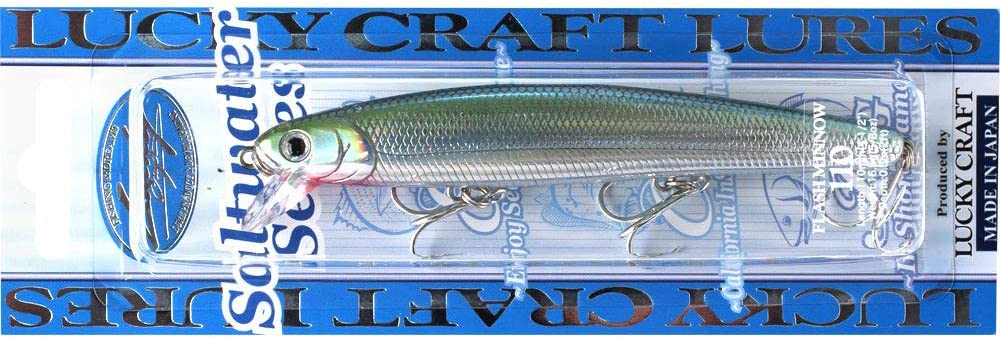 722 New In Package Details about  /Lucky Craft Flash Minnow110 Zebra MS Ghost Minnow