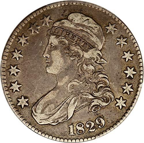 1829 P Bust Half Dollars Half Dollar VF35 PCGS