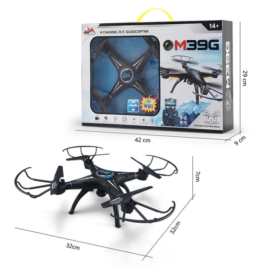 Omiky® HD-Kamera Mode 2017 M39GW 2.4G 6-Achsen-4CH HD-Kamera Omiky® WiFi FPV Gyro RC Quadcopter Altitude Hold 4eba57