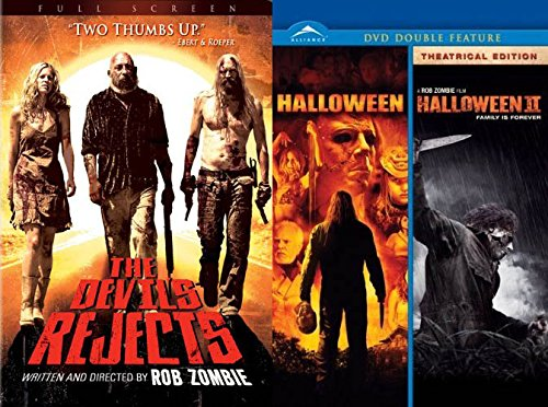 From The Twisted Mind Of Rob Zombie: The Devils Rejects, Halloween, Halloween 2 (Triple Feature 3-Movie Set)]()