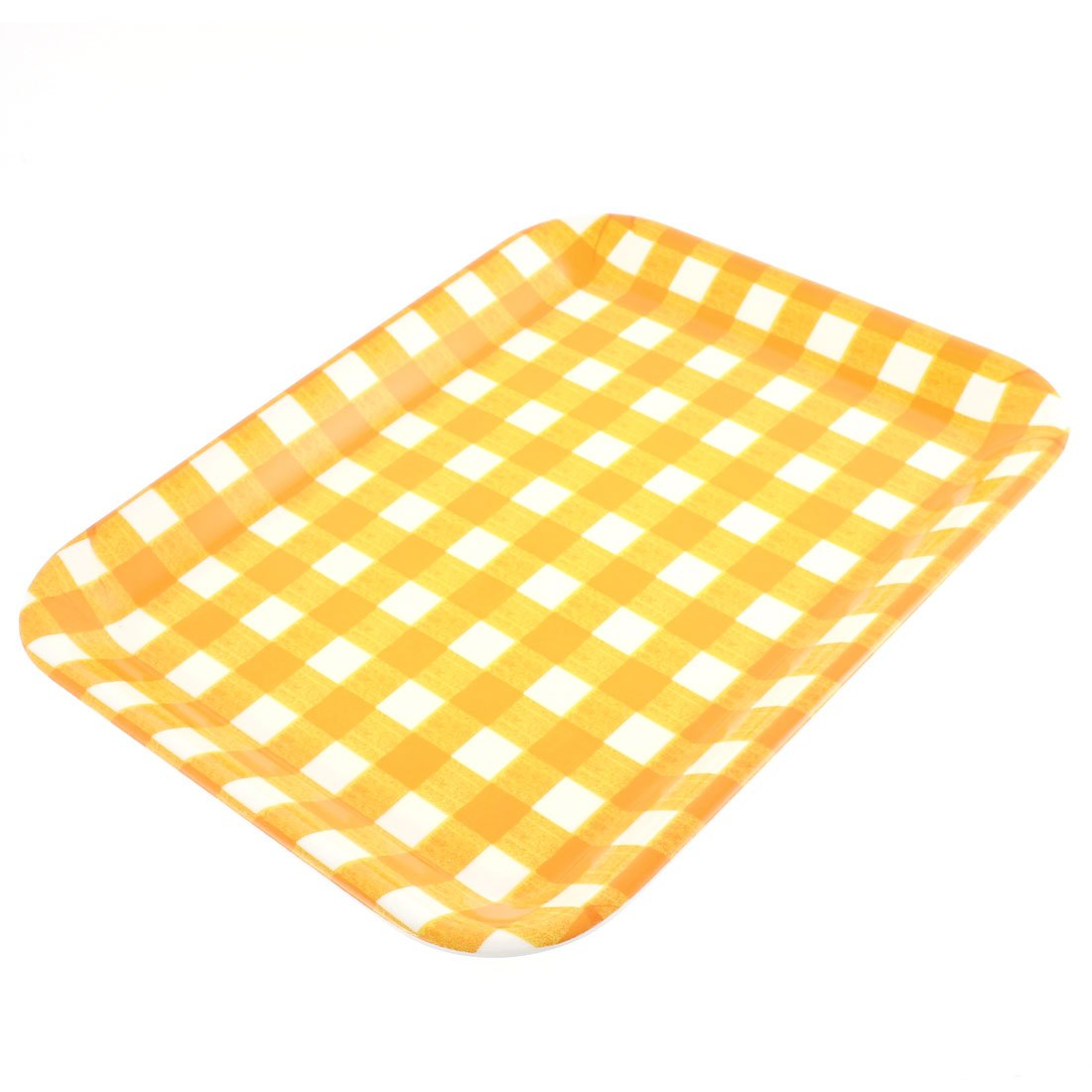 uxcell Hotel Rectangle Shaped Food Cake Serving Tray 13 Inch Length