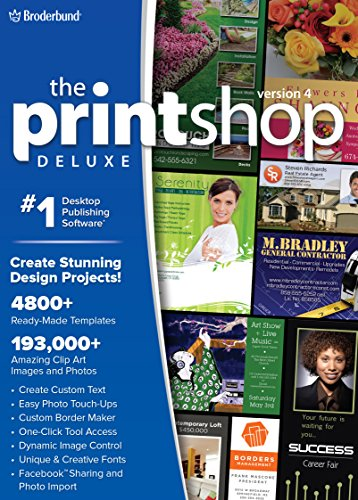 The Print Shop Deluxe 4.0: Unleash Your Creativity! [Download] (Home Software Publishing)