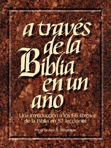 A Traves de La Biblia En Un Ano: Amazon.es: Stringfellow, Alan: Libros