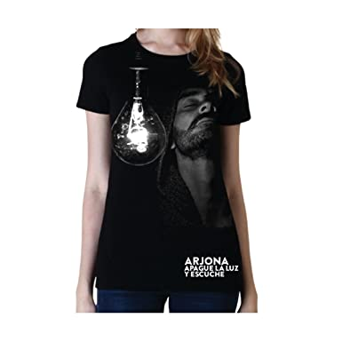 Ricardo Arjona Official Merch Womens T-Shirt SU MENESTER Camiseta de Mujer Colección Apague la