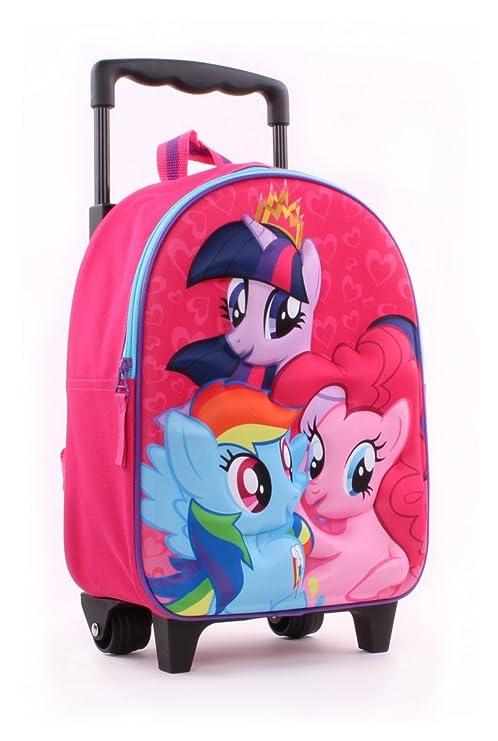 7e41f2552b My Little Ponny zainetto zaino Trolley in 3D Scuola Materna Asilo  Escursioni Tempo Libero
