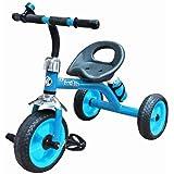 Nagar International Baby Tricycle Metal Body 2+ Years Baby (Blue)