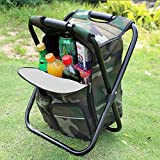 CAMPORT Folding Camping Chair Stool Backpack with