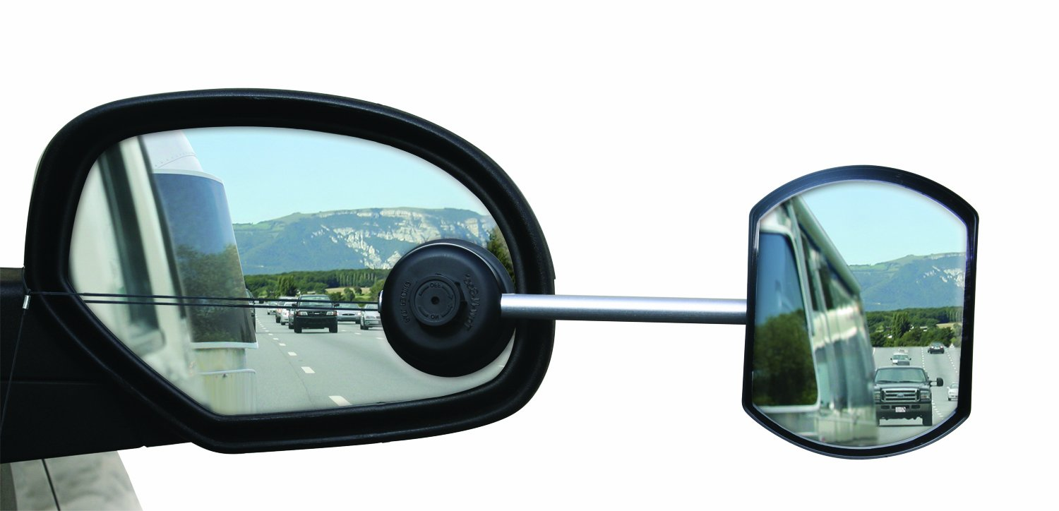 Driver Side mon0000000571 Camco 25664 Flat Tow-N-See Mirror
