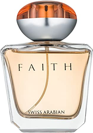 SWISSARABIAN Faith, Eau De Parfum for Women 100mL a Floral Perfume, Fruity Heart with a Sultry Coconut and Sandalwood Base by Fragrance Artisan Swiss Arabian EDP Spray