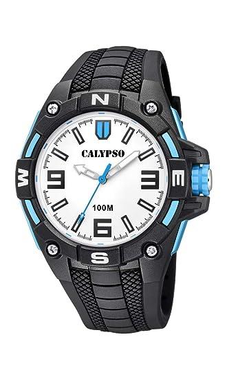Calypso Watches Reloj Analógico para Hombre de Cuarzo con Correa en Plástico K5761/1