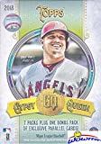 2018 Topps Gypsy Queen MLB Baseball Factory Sealed Retail Box with EXCLUSIVE PARALLELS! Look for Autograph, Memorabilia, Shortprints, Mini Cards & Shohei Ohtani Rookie Cards & Autograph's! SUPER HOT!
