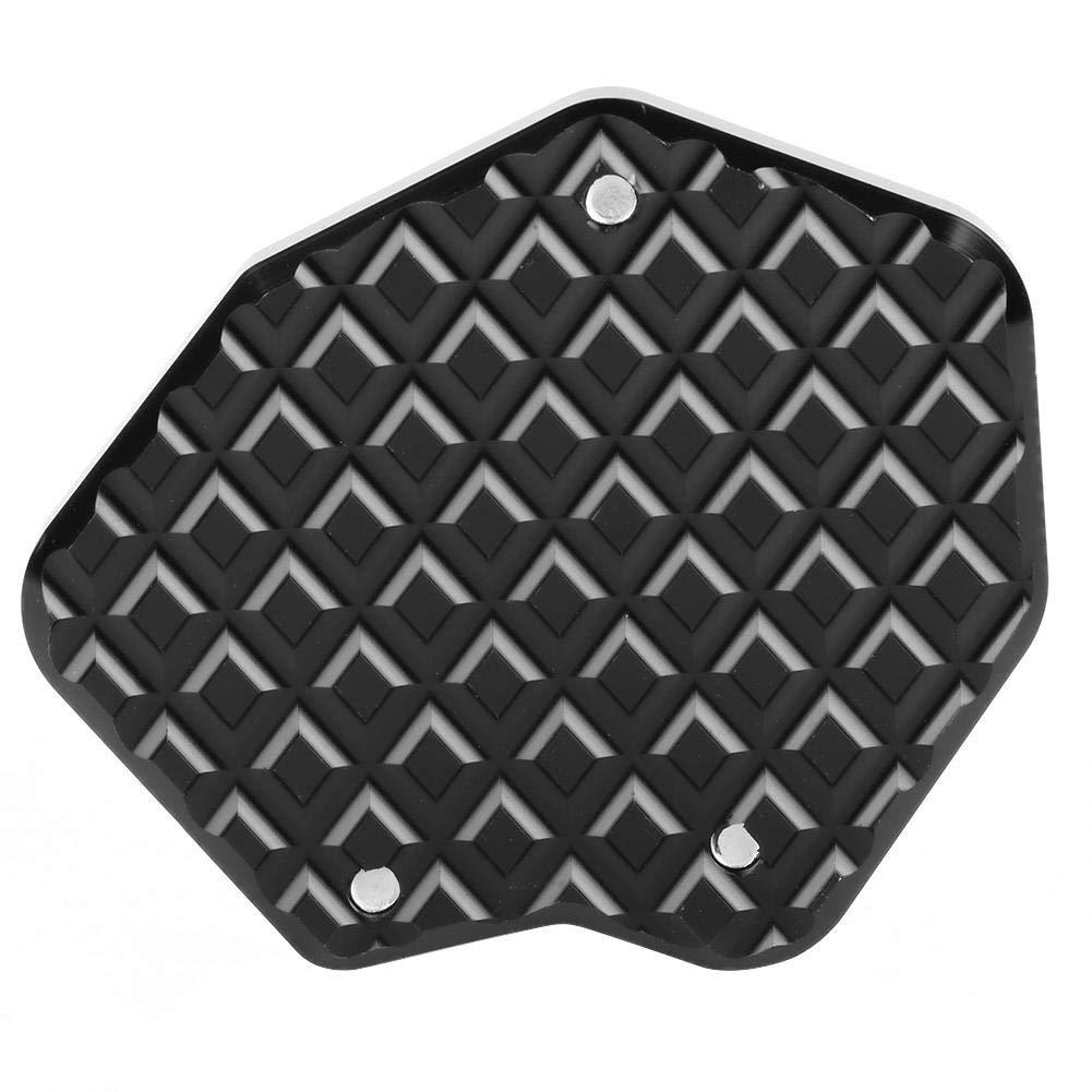 Soporte de pedal CNC Amplificador de almohadilla de extensi/ón de soporte lateral de motocicleta de aluminio adecuado para Triumph Tiger 800 2013-2018