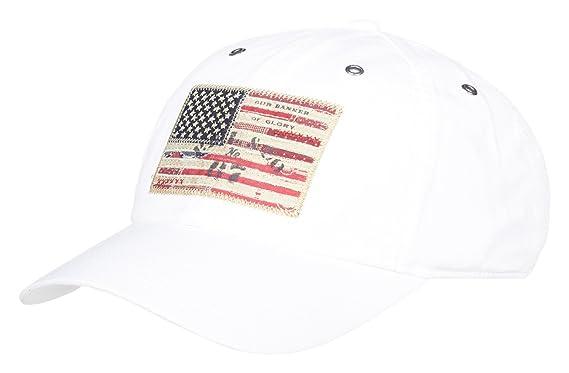 Polo Ralph Lauren   Iconic Flag Cap Blanc   RLU 710702651003 - OS ... 251e79574f6