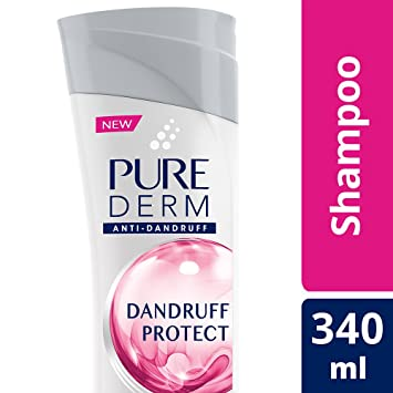 Pure Derm Dandruff Protect Shampoo, 340ml