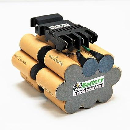 dewalt 24v dw0242 str0242 battery replacement internals tenergy