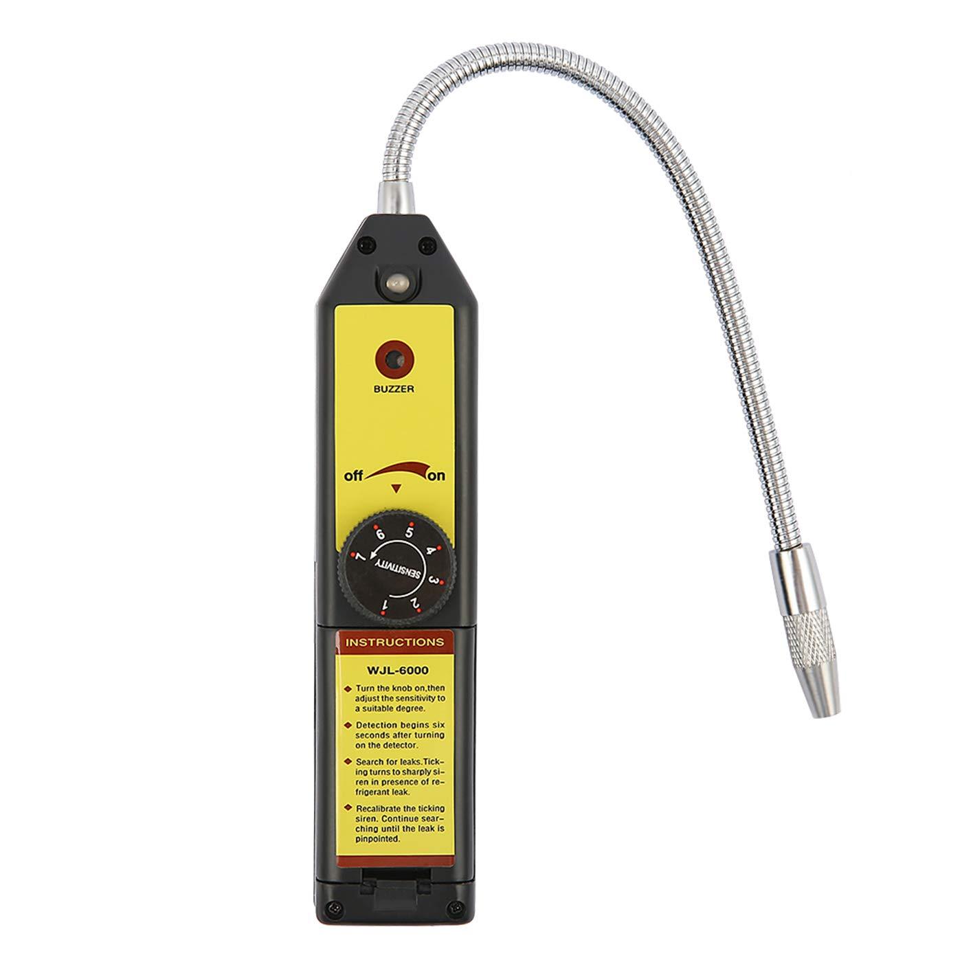 HDE - Detector de Fugas de Gas halógeno portátil AC Freon, Herramienta de inspección: Amazon.es: Bricolaje y herramientas