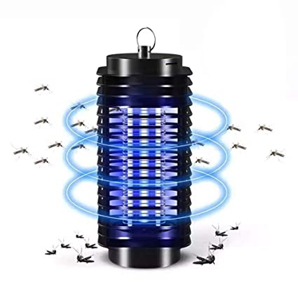 uk Electric Insect Killer Mosquito Fly Pest Bug Zapper Catcher Trap LED Lamp