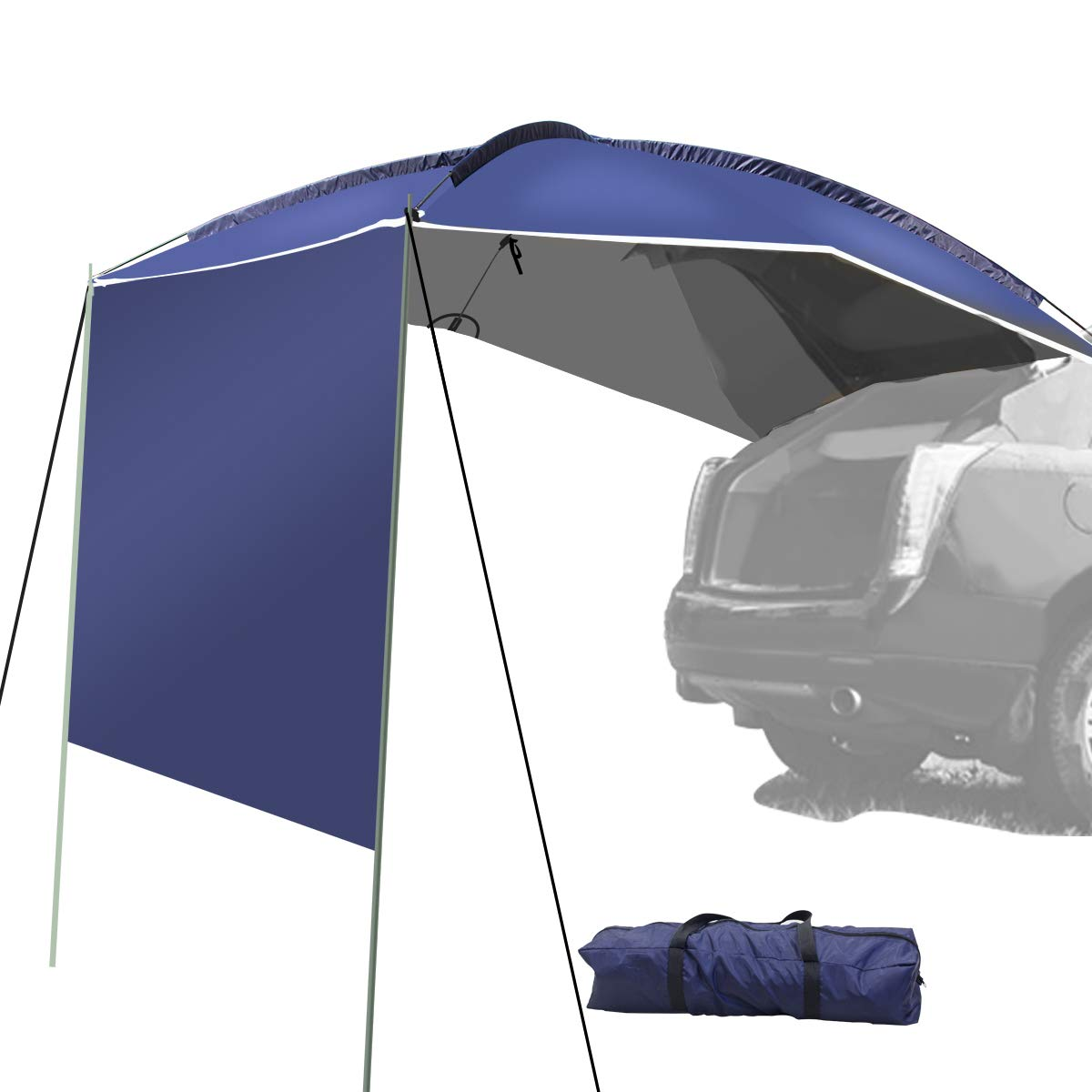 Amazon com : UBOWAY Awning Sun Shelter - Waterproof Auto